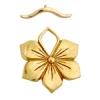 Bronze Toggle Flower 27mm